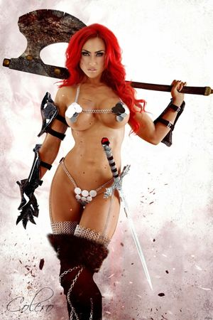 red sonja nude