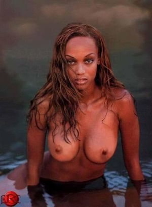 nude pictures of tyra banks