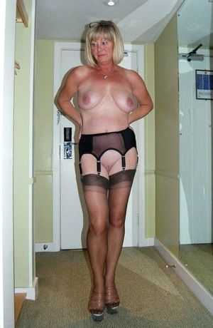 sexy gilf in lingerie