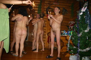 nudist christmas