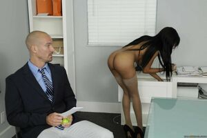 hot fuck in office