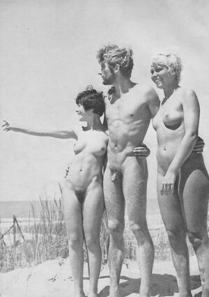 vintage nudist family