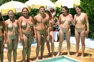 photos of nudist families