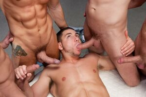 gay group blowjob