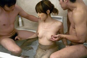japanese bathroom blowjob