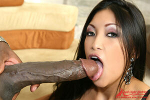 black sucking big white cock