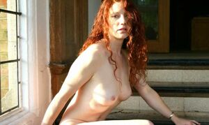 naked red haired celeb