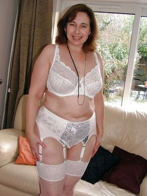 housewife in lingerie