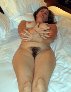 naked hairy mature