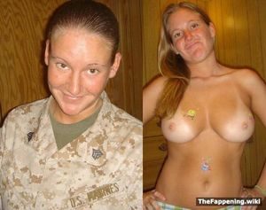 military wife nude