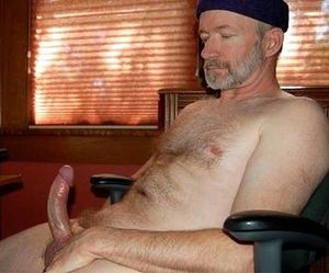 men jerking cock