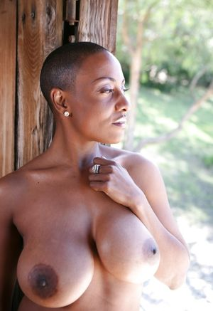 black celeb with large breasts