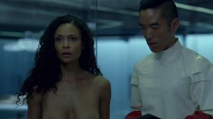 dolores westworld naked